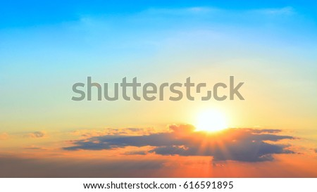 Beautiful sunset background #616591895