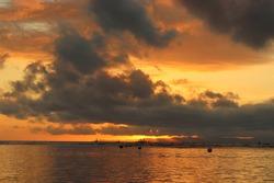 Beautiful Sunset of Negros Oriental Philippines