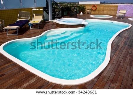 Beautiful swimming pool