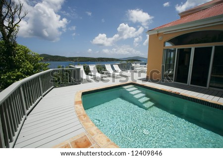 beautiful swimming pool and scenic view