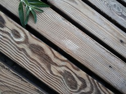 beautiful texture of diagonal wooden boards on the beach