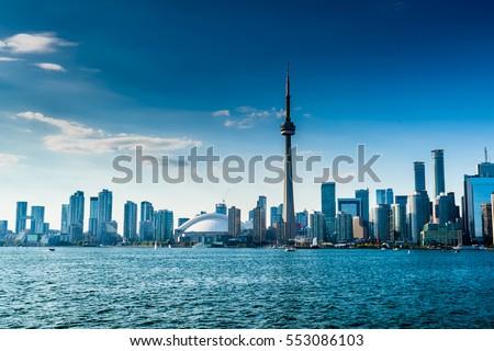 Photo of  Beautiful Toronto skyline. Ontario, Canada
