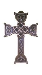 Beautiful traditional Irish cross made of bronze