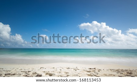 beautiful tropical beach