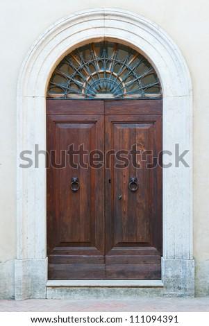 Beautiful Tuscan/Italian Door