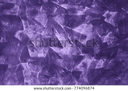 Beautiful Ultra Violet texture. Old stone macro, can be also used as background. #774096874