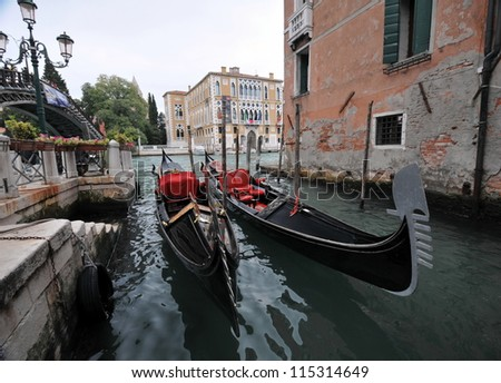 Beautiful  Venetian scenery