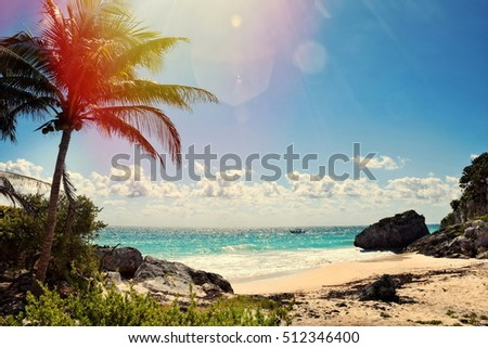 Shutterstock Beautiful view in Cancun,Mexico