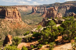 Beautiful View of Colorado National Monument