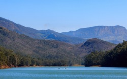 Beautiful view of Mattupetty Dam, Munnar , Kerala , India