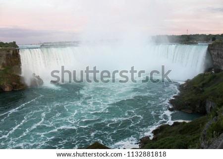Beautiful view of Niagara falls, Canada #1132881818