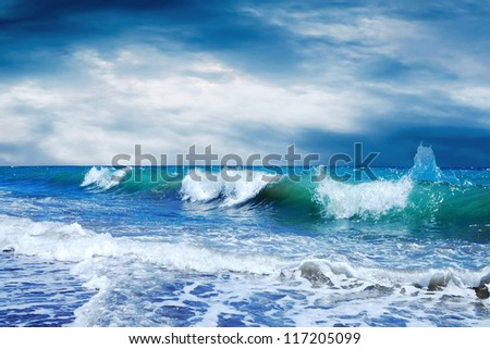 Beautiful View of seascape