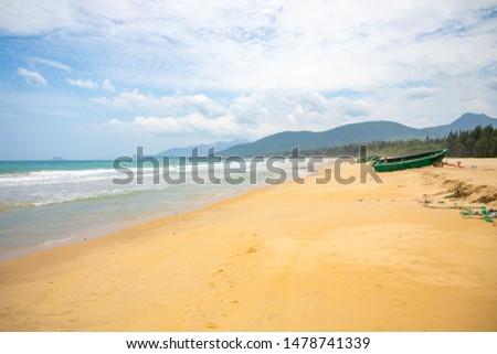 Beautiful view of Shimei Bay Beach in Hainan, China