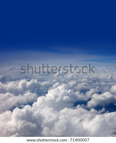 Beautiful view of sky