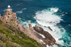 Beautiful view on Cape of Good Hope Lighthouse
