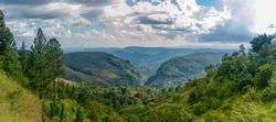 Beautiful view on the way to Haputale, Sri Lanka