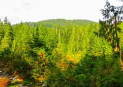 Beautiful views, near Vancouver, in British Columbia, September 2014.Canada