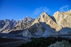 Beautiful views of the mountains Pakistan