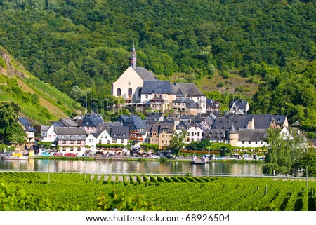 Beautiful village of Beilstein Germany