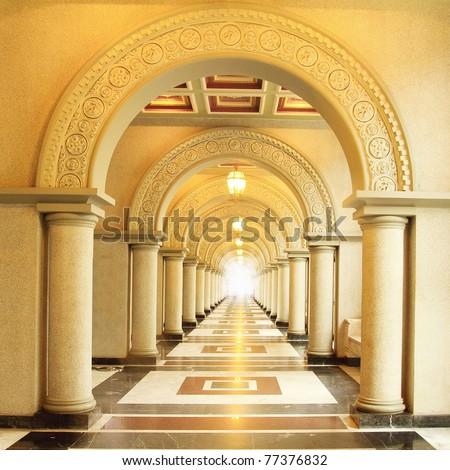 Beautiful walkway #77376832