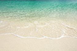 Beautiful water beach background