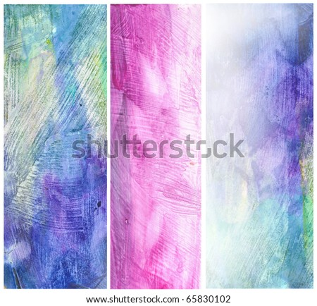 Beautiful watercolor background in soft pink and blue- Great for textures and backgrounds for your projects!