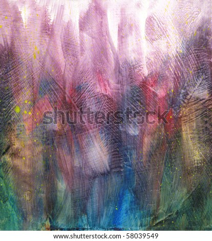 Beautiful watercolor background in soft purple, blue and red- Great for textures and backgrounds for your projects!