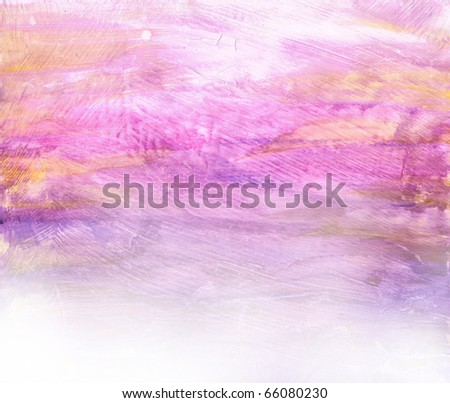 Beautiful watercolor background in soft purple, yellow and white- Great for textures and backgrounds for your projects!