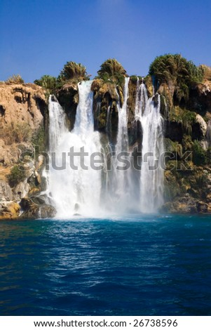 beautiful waterfall pictures. eautiful waterfall above