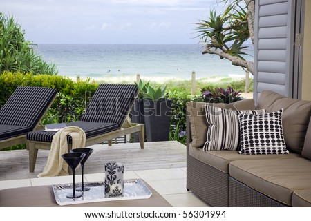 beautiful waterfront suite with ocean views