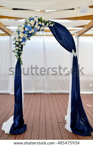 Free Photos Beautiful Wedding Arch And Chairs For Marriage Decorated