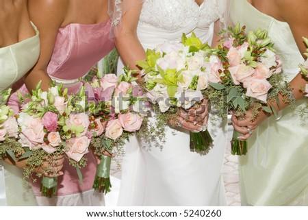 stock photo Beautiful Wedding Bouquets
