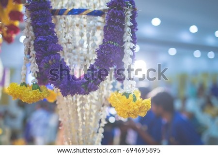 beautiful wedding decoration  #694695895