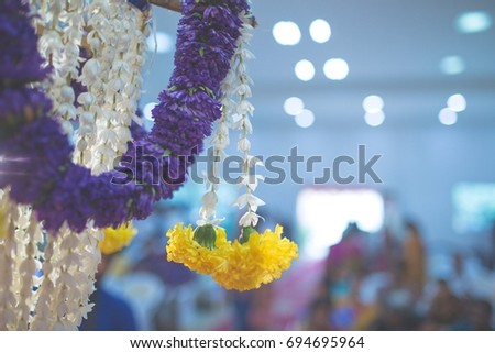 beautiful wedding decoration  #694695964