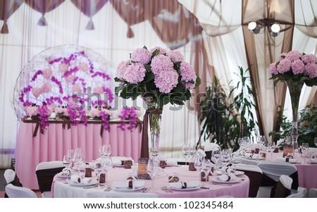 beautiful wedding hall,