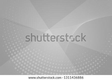 Beautiful white abstract background. Silver neutral backdrop for presentation design. Argent base for website, print, basis for banners, wallpapers, business cards, brochure, banner, calendar, graphic #1311436886