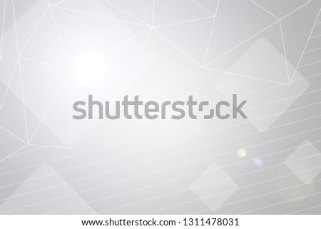 Beautiful white abstract background. Silver neutral backdrop for presentation design. Argent base for website, print, basis for banners, wallpapers, business cards, brochure, banner, calendar, graphic #1311478031