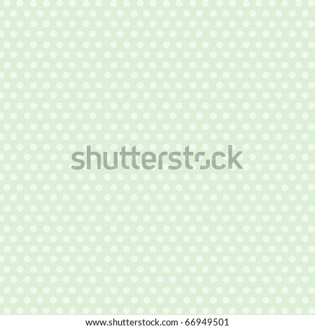 Beautiful white dots on green background.