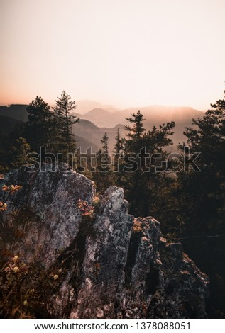 beautiful Wilderness, Rugged nature landscape. #1378088051