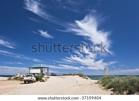 Beautiful winter sky in Western Australia, Australia