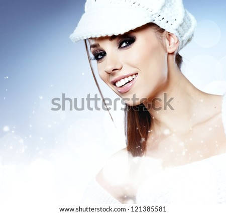 Beautiful Winter Woman