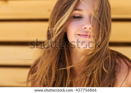 Beautiful woman - Shutterstock ID 437756866