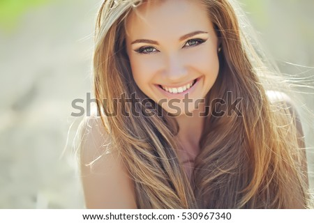 Beautiful woman - Shutterstock ID 530967340