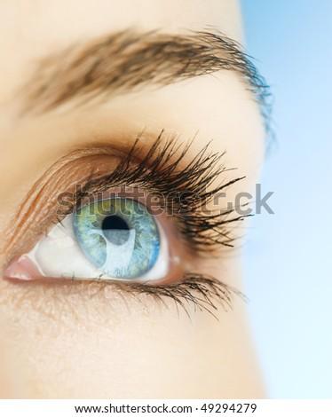Beautiful Woman Eye
