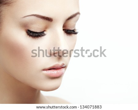 Beautiful Stock Photography Beautiful woman face