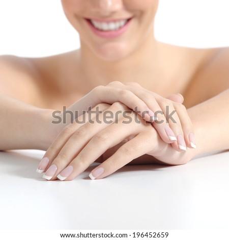 Маникюр на большом пальце руки