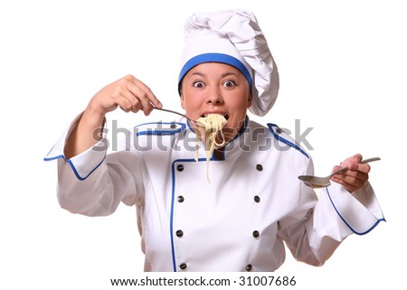 beautiful woman in chef images