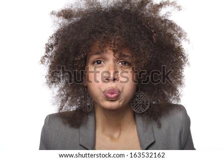 Beautiful woman posing #163532162