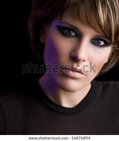 cats makeup. Drag Eye Makeup.