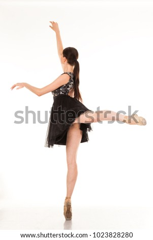 7b0640783254 Beautiful young ballerina